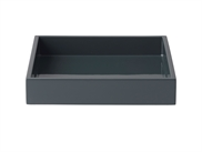 LUX Lacquer Tray 19*19*3,5 cm Navy Blazer
