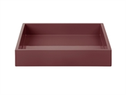 LUX Lacquer Tray 19*19*3,5 cm Wild Ginger