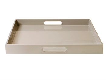 LUX Lacquer Tray 40*40*4 cm Fawn
