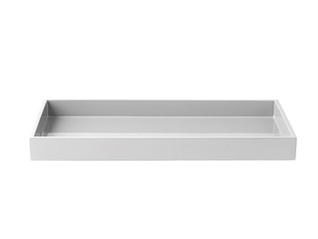 LUX Lacquer Tray 38*19*3,5 cm Light Grey