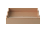 LUX Lacquer Tray 19*19*3,5 cm Soft Powder
