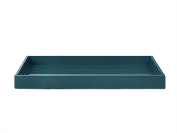 LUX Lacquer Tray  38*19*3,5 cm Petrol