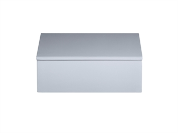 LUX Lacquer Box 19*19*7 cm Cool Grey