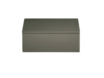LUX Lacquer Box 19*19*7 cm Agave Green