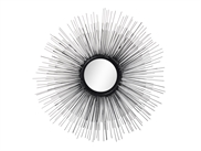 STARDUST Mirror/Decor ø60 cm Black