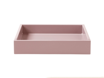 Lacquer Tray 19*19*3,5 cm Powder Rose