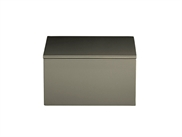 Lacquer Box 19*19*10,5 cm Steeple Grey