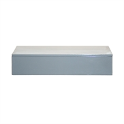 Lacquer Box 38*19*7 cm Cool Grey