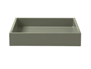 LUX Lacquer Tray 19*19*3,5 cm Sage